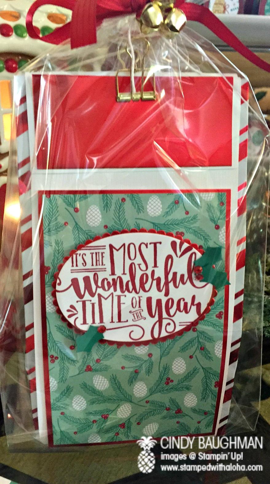 Christmas Aloha Prize - www.stampedwithaloha.com