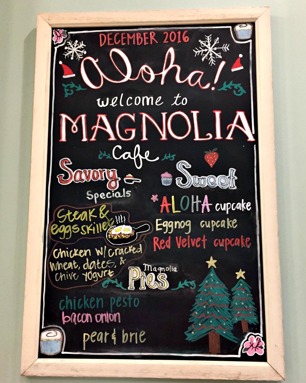 Magnolia Bakery at Ala Moana - www.stampedwithaloha.com