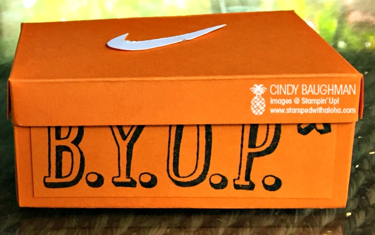 Buy Your Own Present Shoe Box- www.stampedwithaloha.com