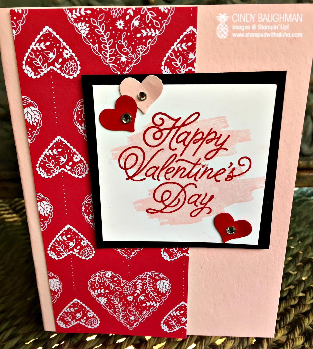 Sealed With Love Valentine's Day card - www.stampedwithaloha.com