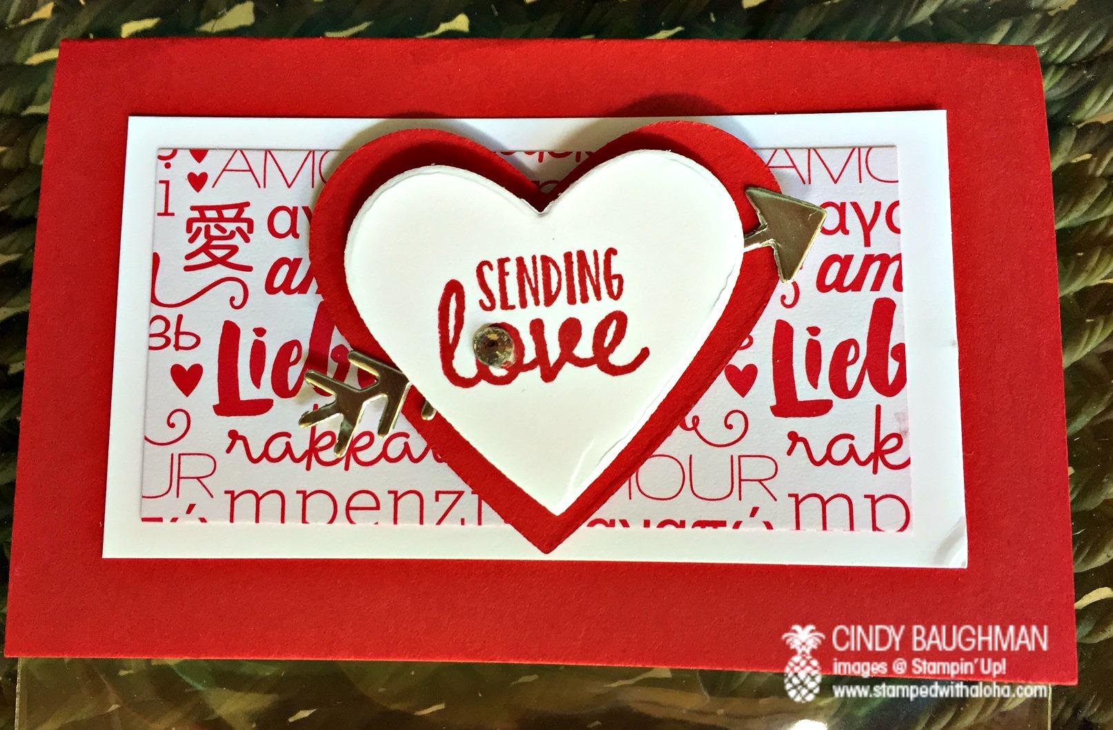 Sending Love Favor Topper - www.stampedwithaloha.com