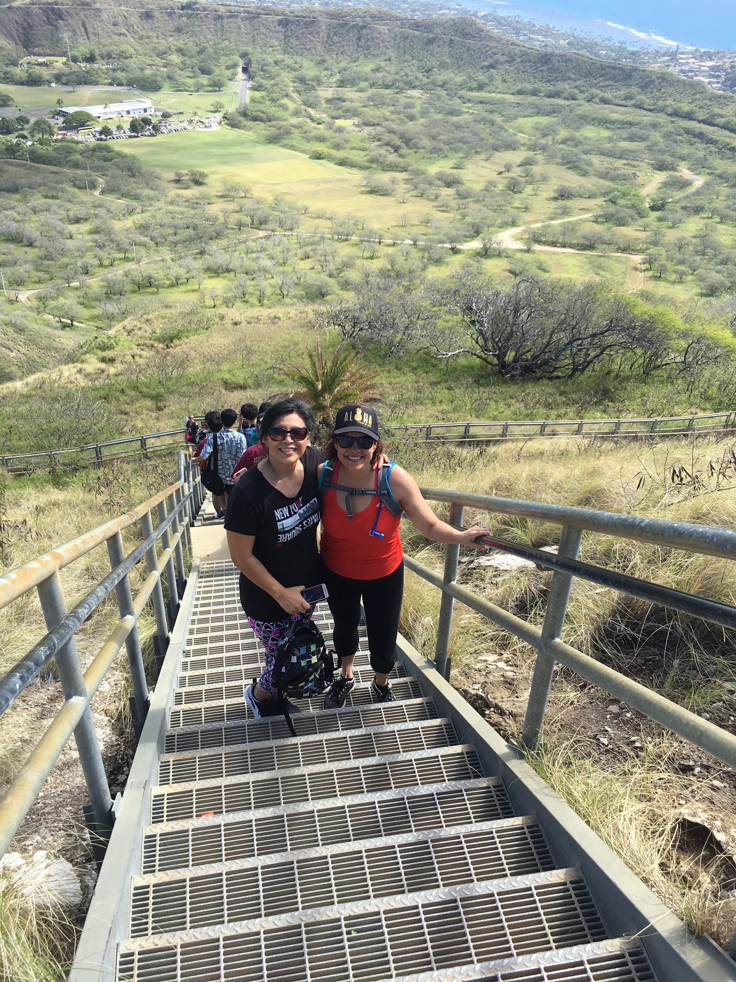 Diamond Head Hike - www.stampedwithaloha.com