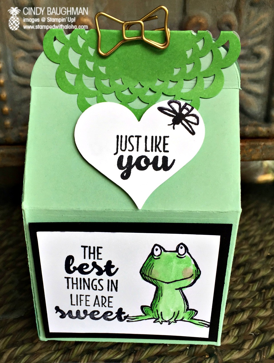 Sweet Froggy Bakers Box - www.stampedwithaloha.com