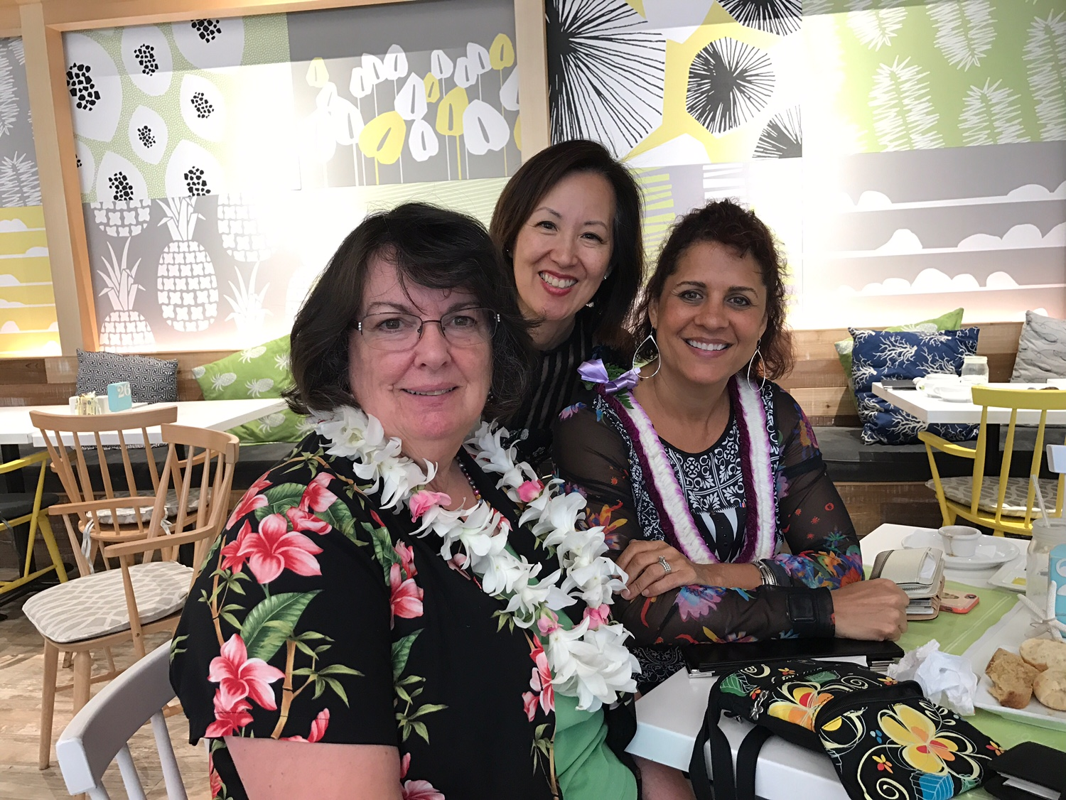 Cafe Lani with Pam and Mary - www.stampedwithaloha.com