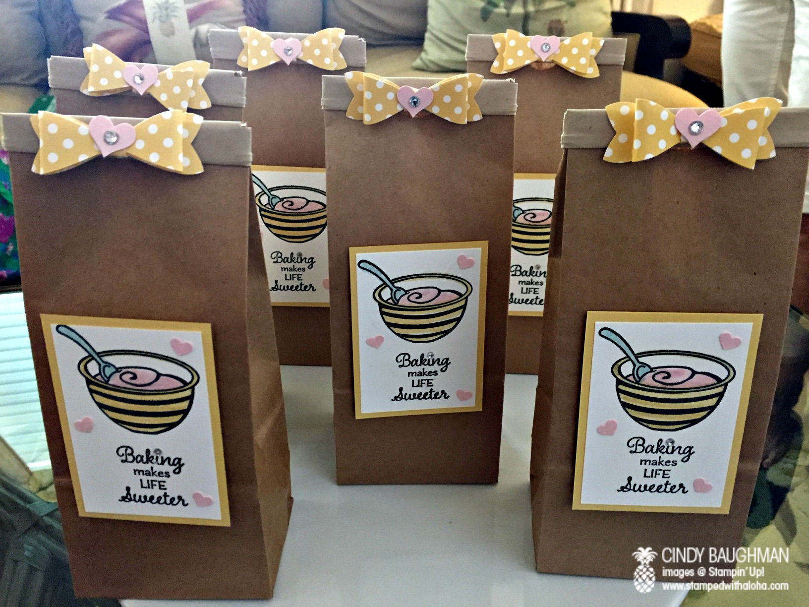 Perfect Mix Party Favor Bags - www.stampedwithaloha.com