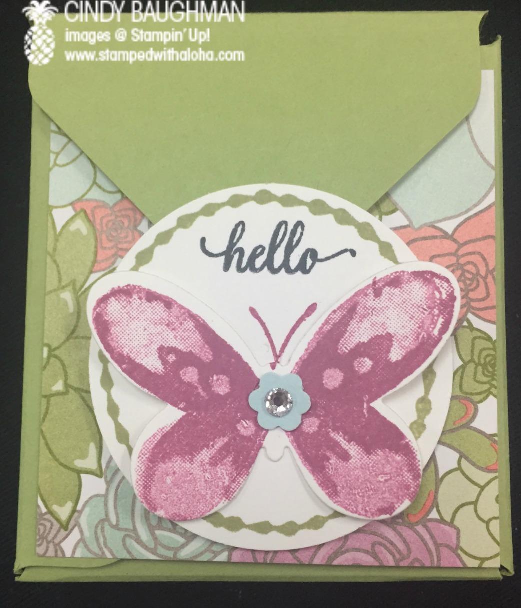 Succulent Tea Box - www.stampedwithaloha.com