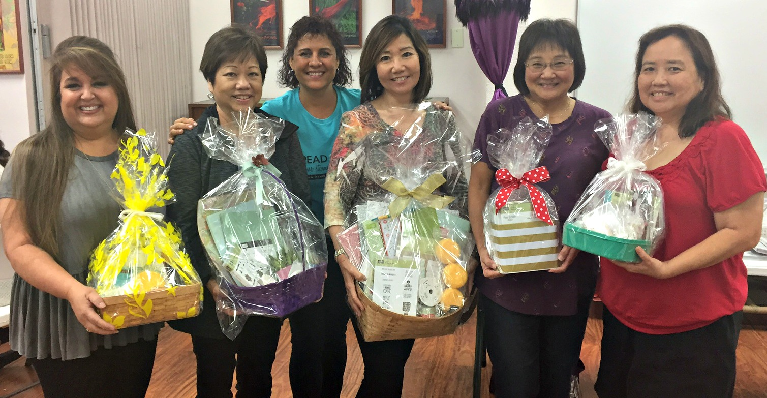 Grand Prize Basket Winners - www.stampedwithaloha.com