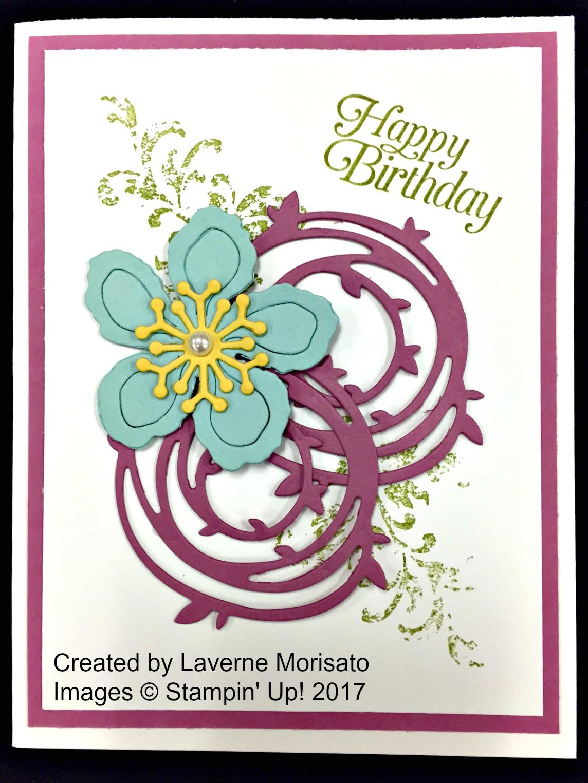 Laverne's Card - www.stampedwithaloha.com