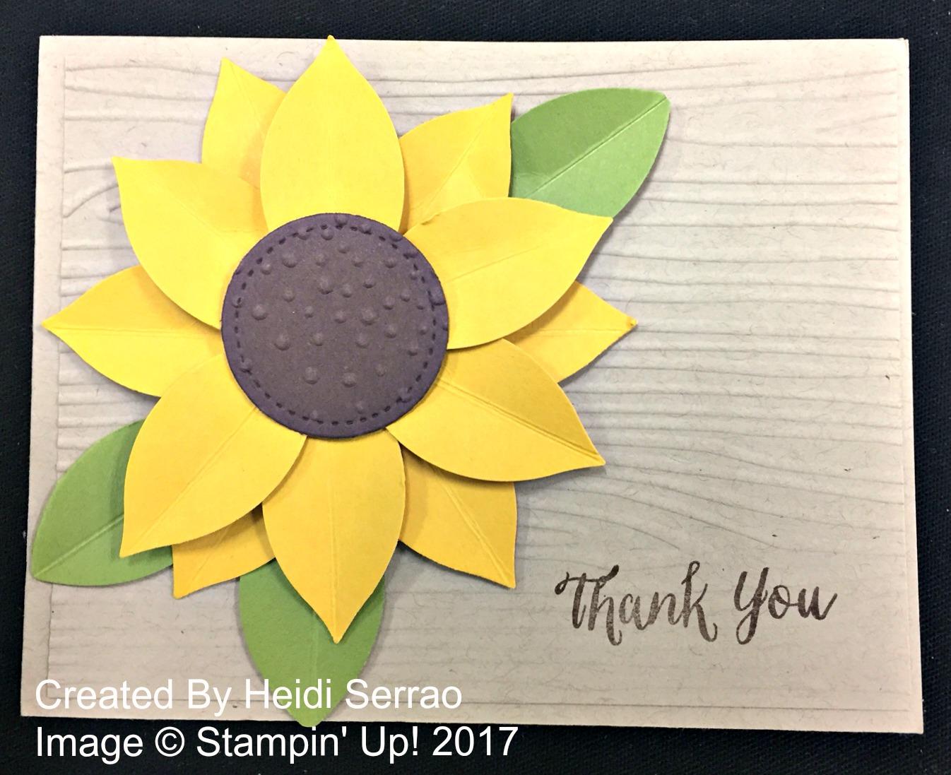 Heidi's Card - www.stampedwithaloha.com