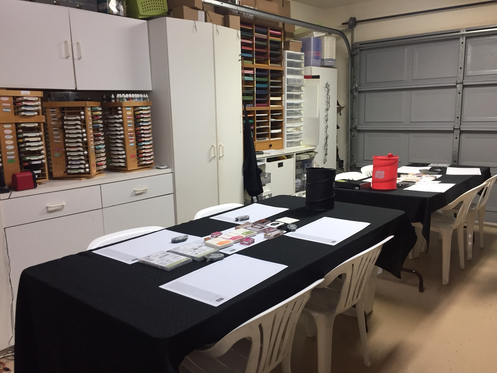 Cindy's Stamp Room (Before)- www.stampedwithaloha.com