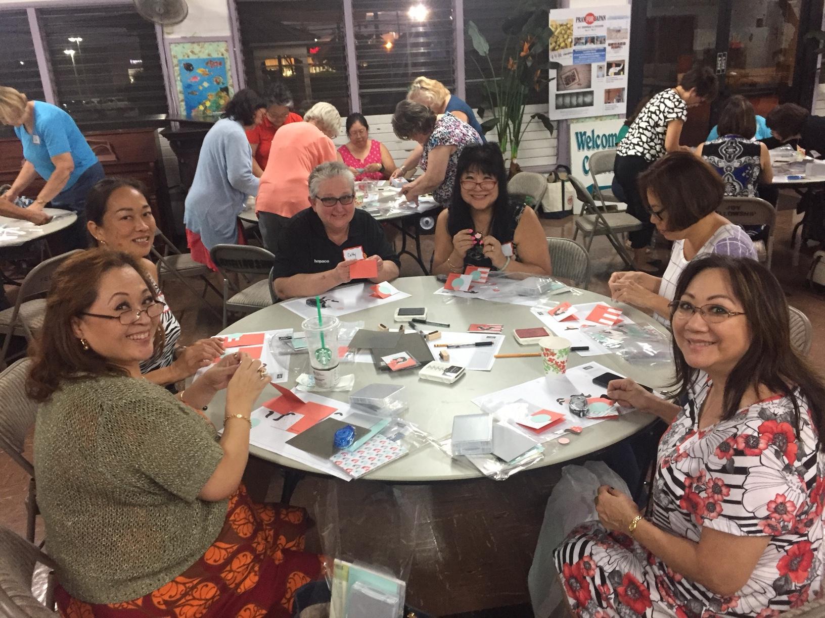 May Inspiration Night - www.stampedwithaloha.com