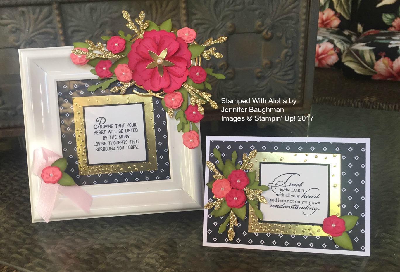 A beautiful gift - www.stampedwithaloha.com