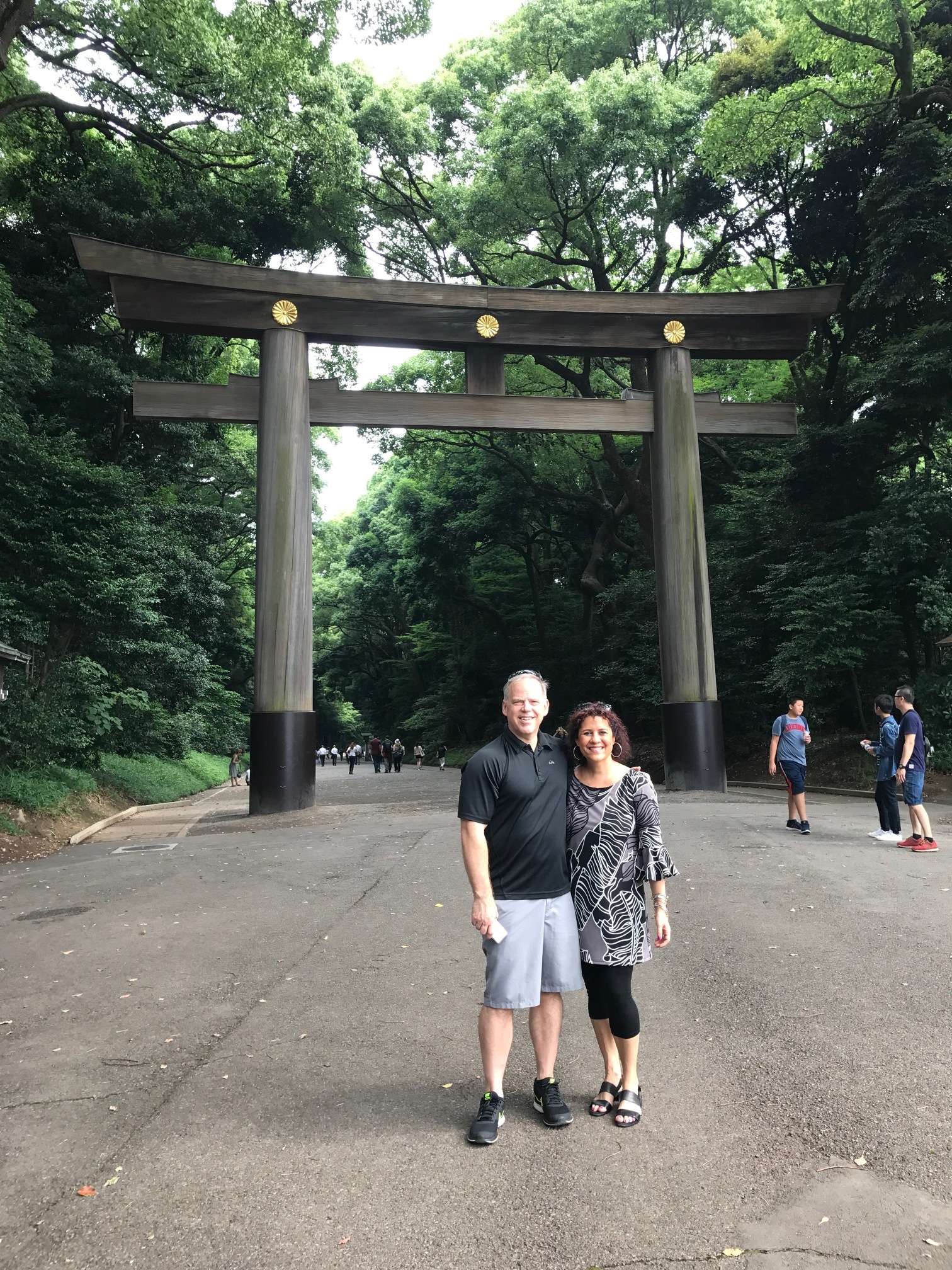 Derek and Cindy in Japan