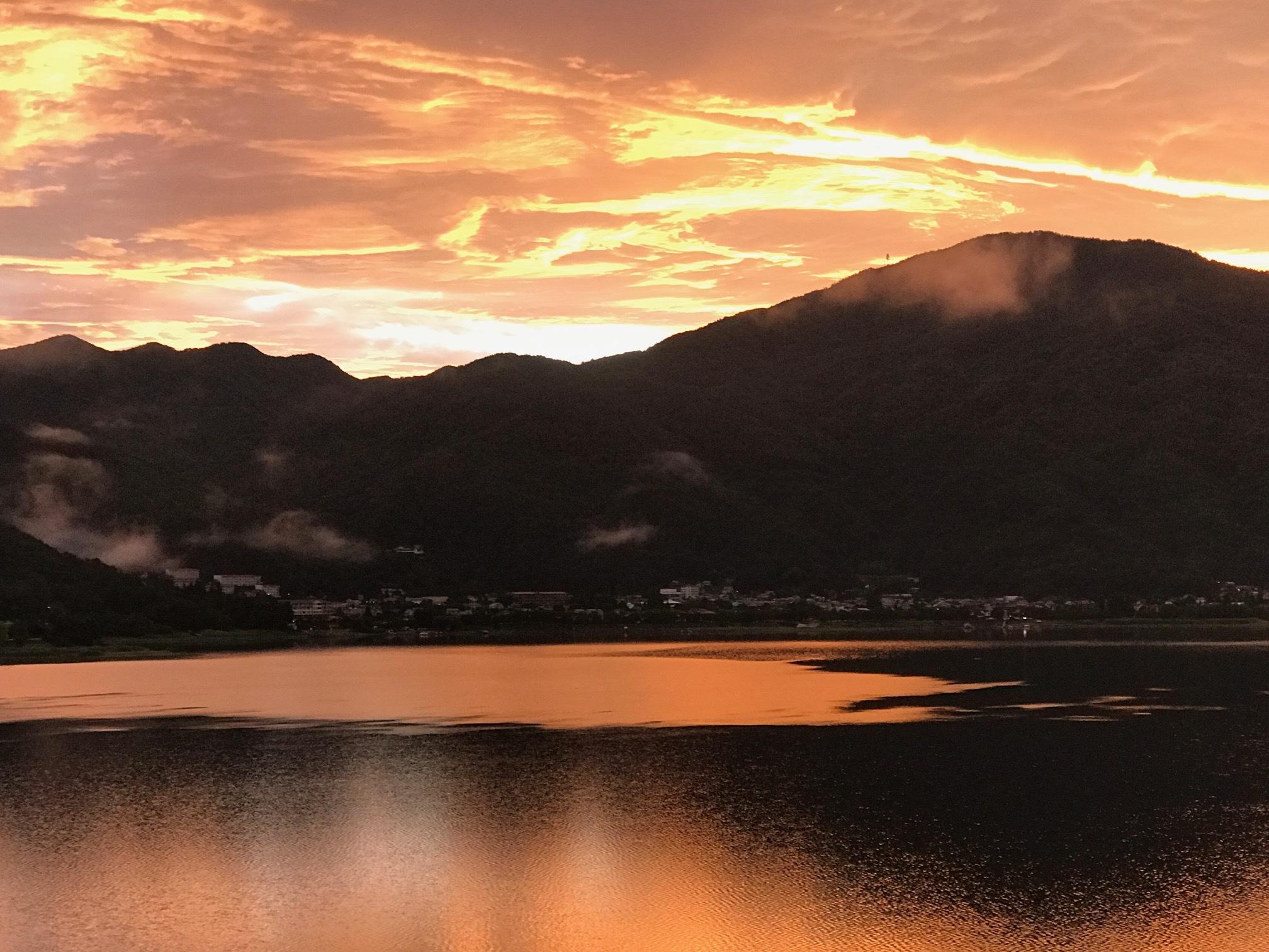 Sunrise at the Ryokan
