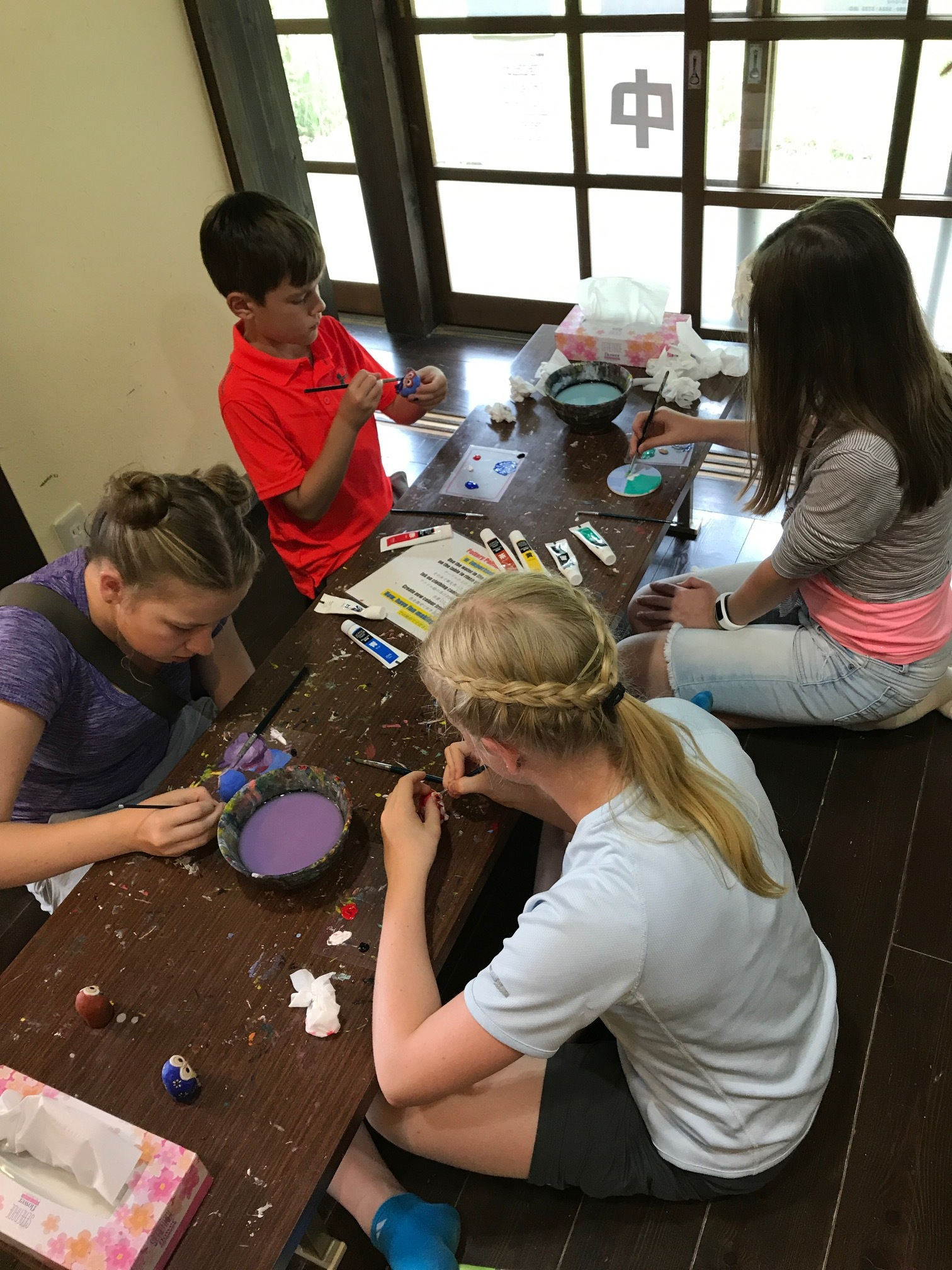 Crafting in the village
