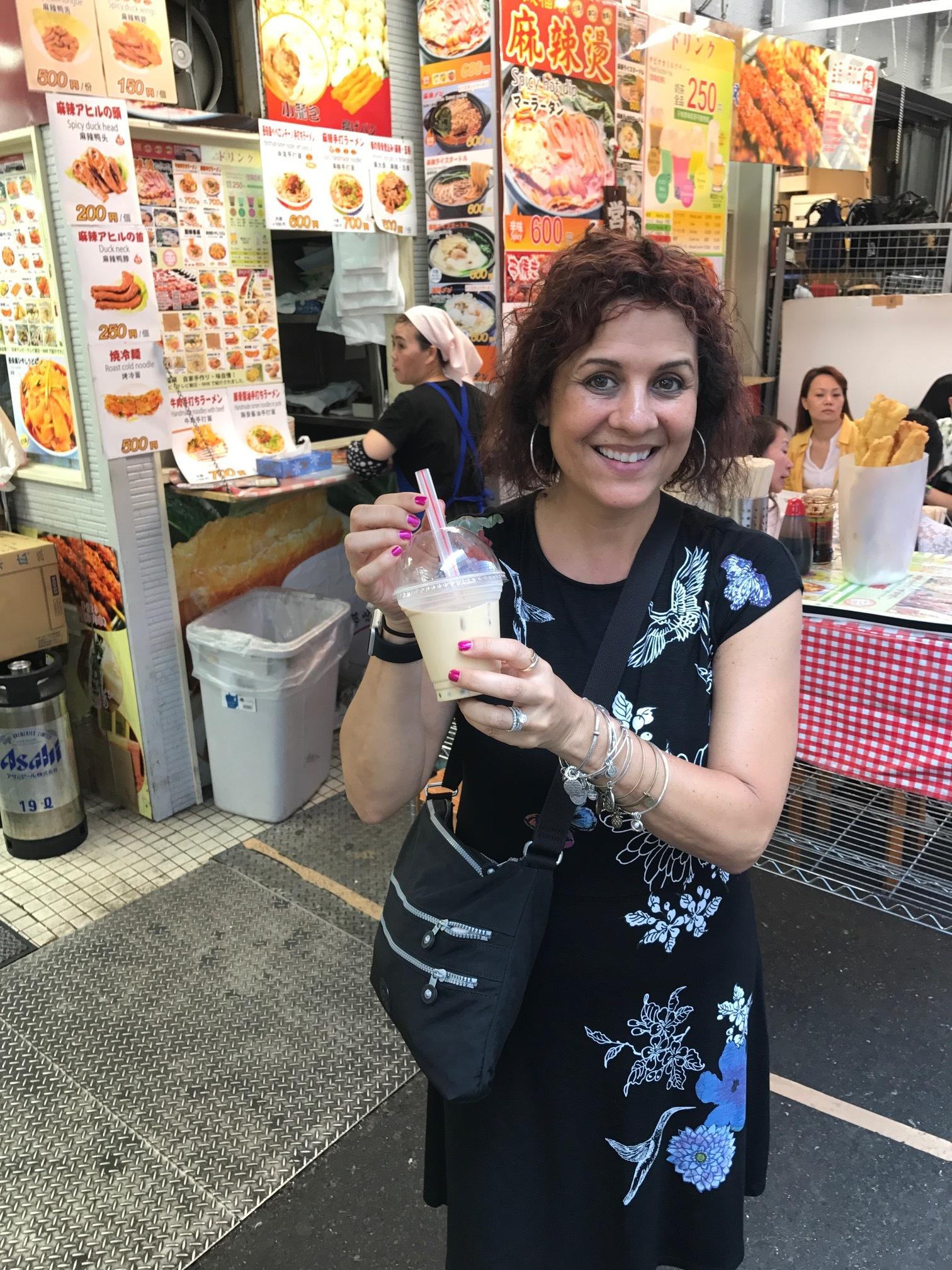 Milk Tea in Tokyo