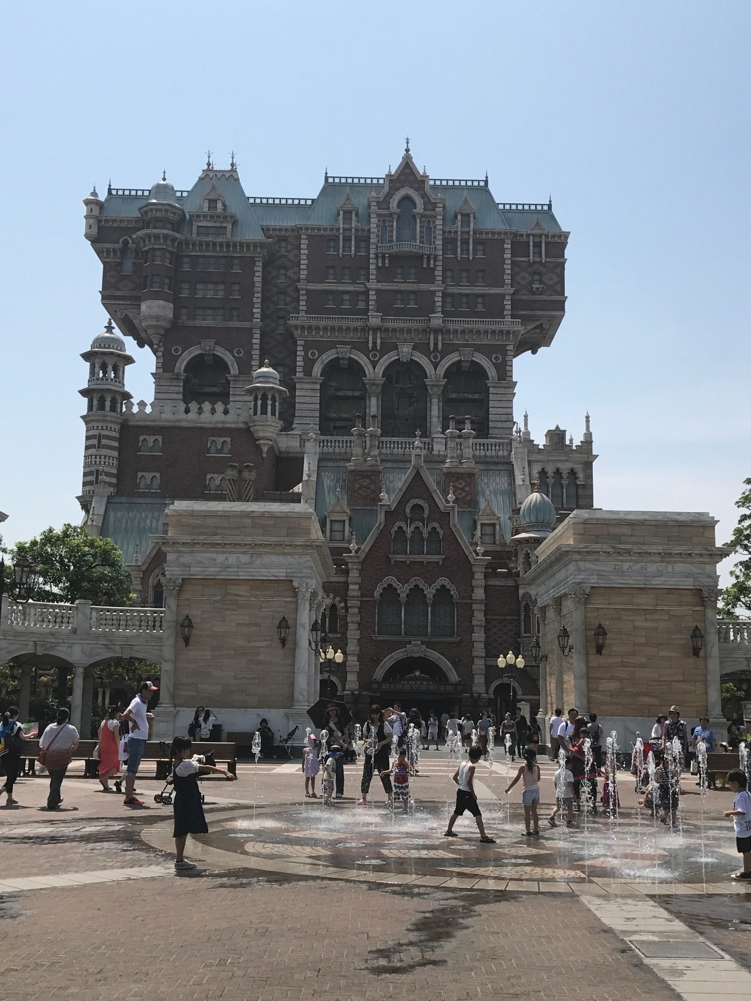 Tower of Terror at Disney Sea, Tokyo