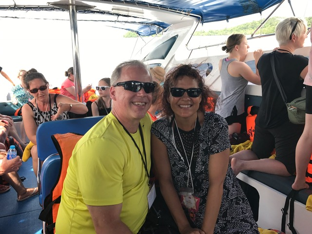 Boat ride to Pha Nang Bay