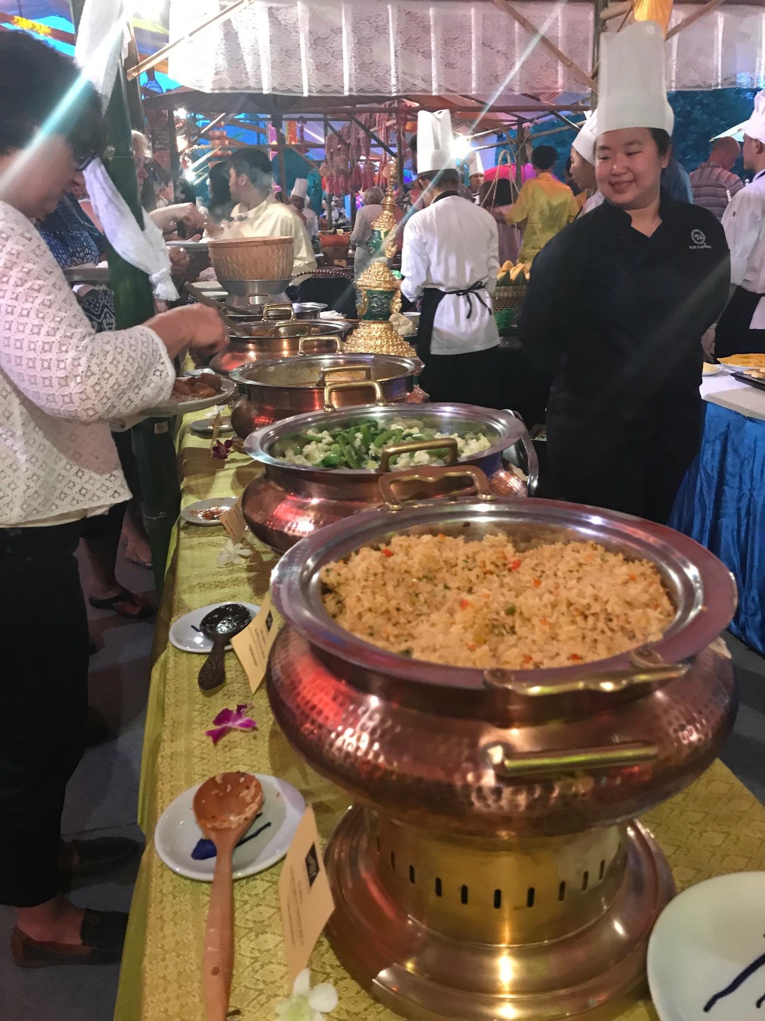Thai Dinner at the Blue Elephant