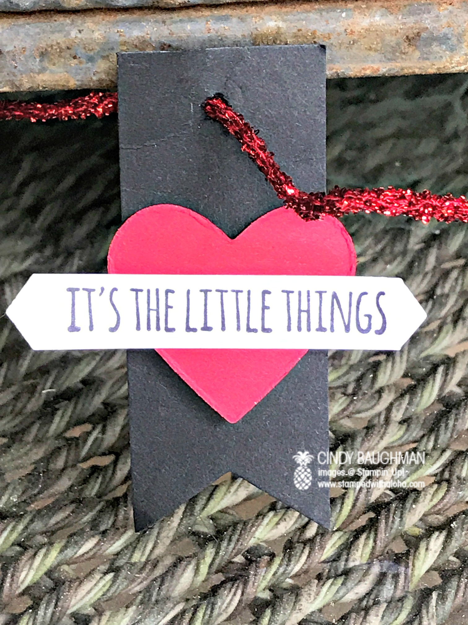 The Little Things Tag - www.stampedwithaloha.com