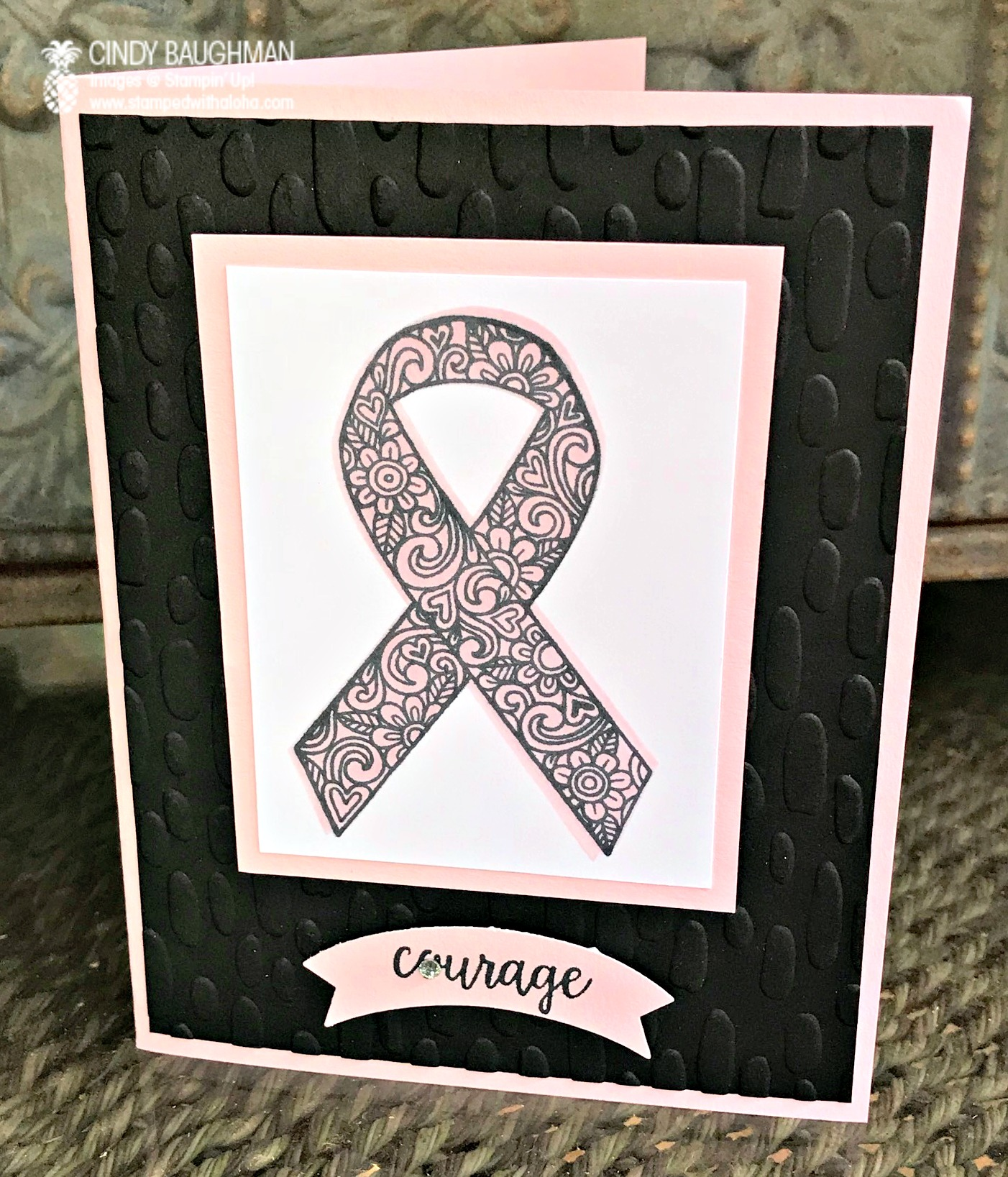 Ribbon of Courage Card