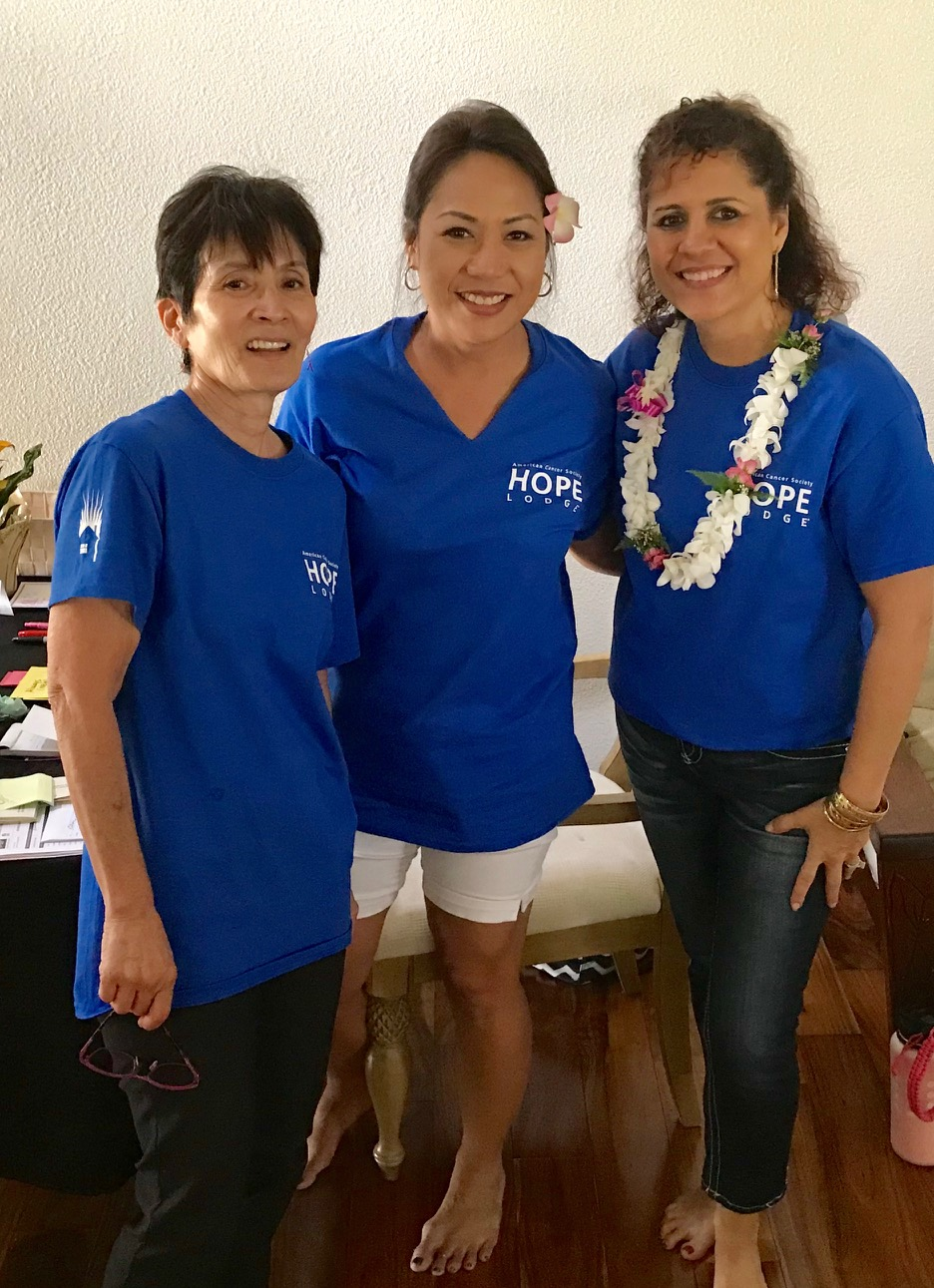 Annie, Michelle and Cindy - www.stampedwithaloha.com