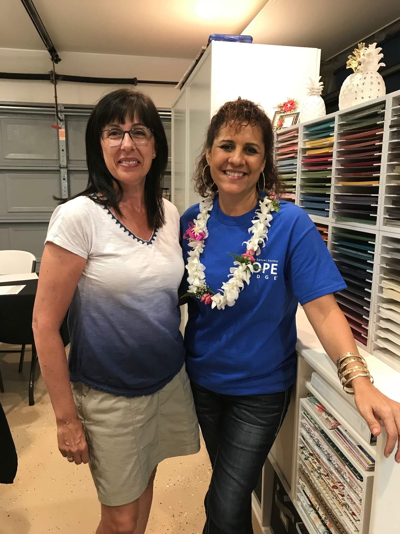 Brenda and Cindy - www.stampedwithaloha.com