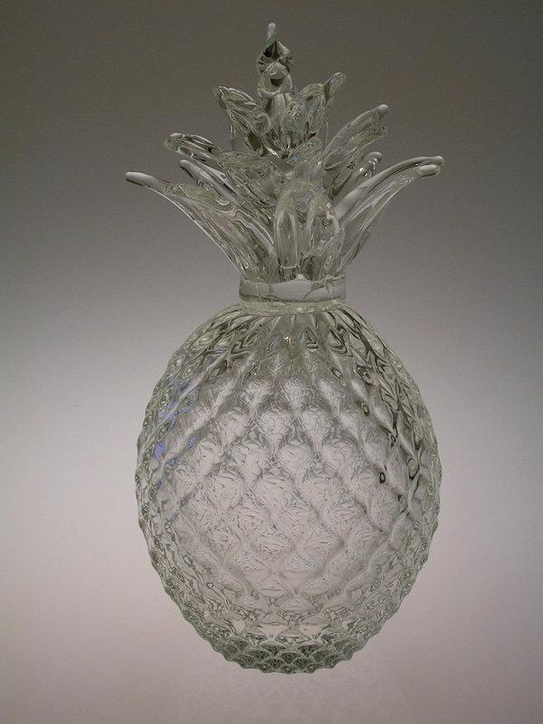 Glass Pineapple Gift