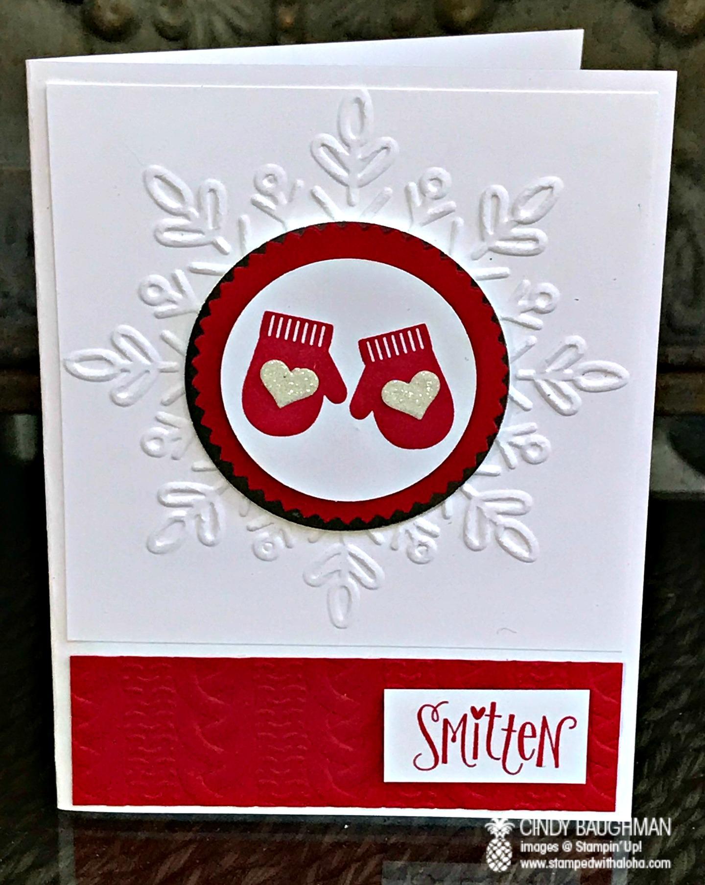 Smitten Card - www.stampedwithaloha.com