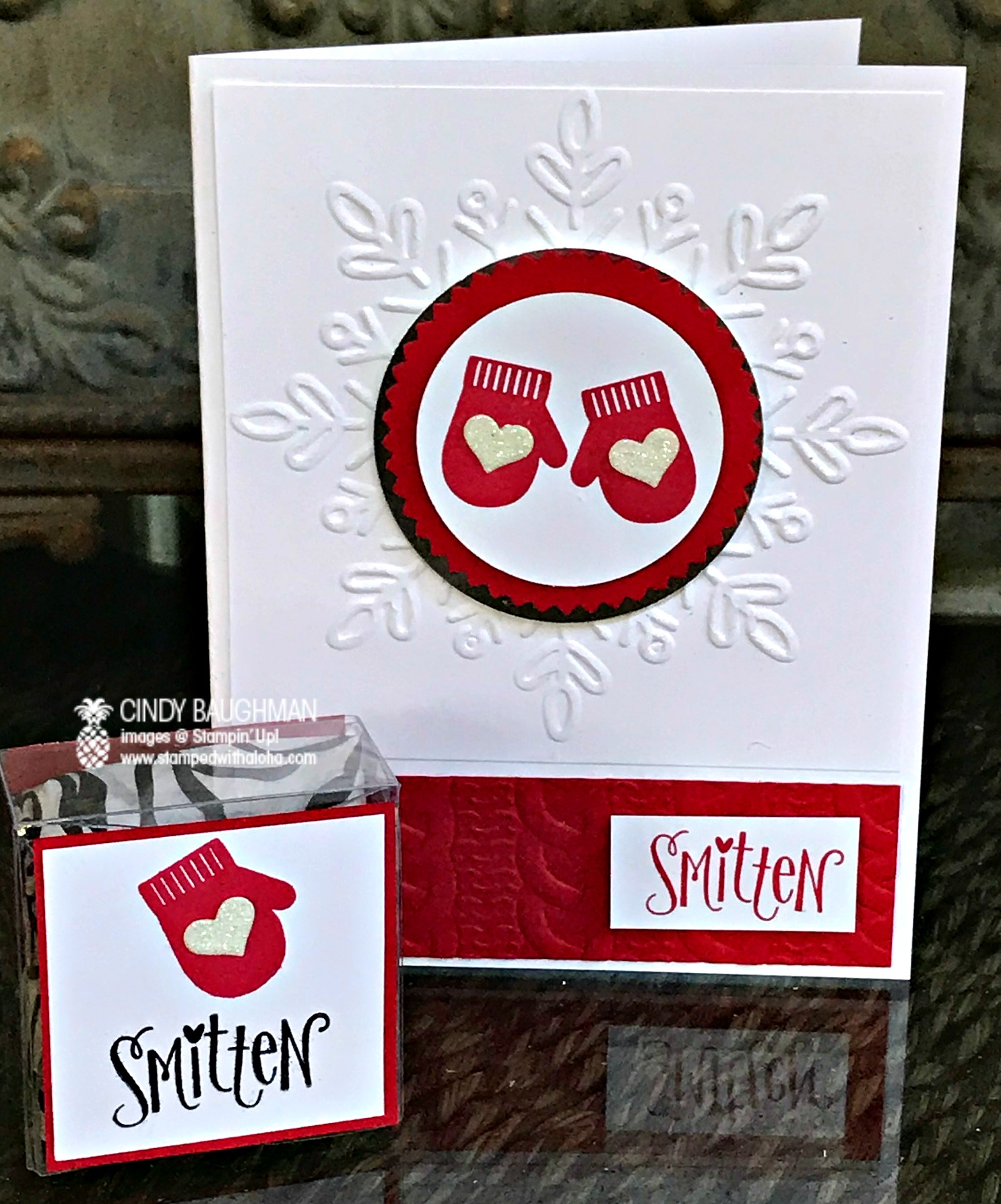 Smitten Party Swap and Favor - www.stampedwithaloha.com