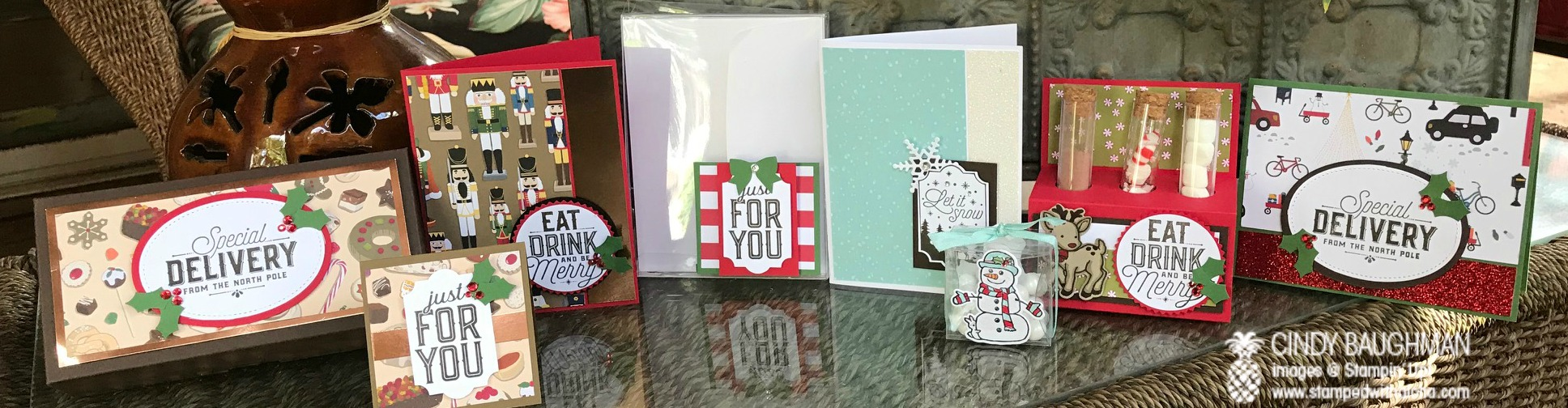 2017 Holiday Stamp Camp Projects