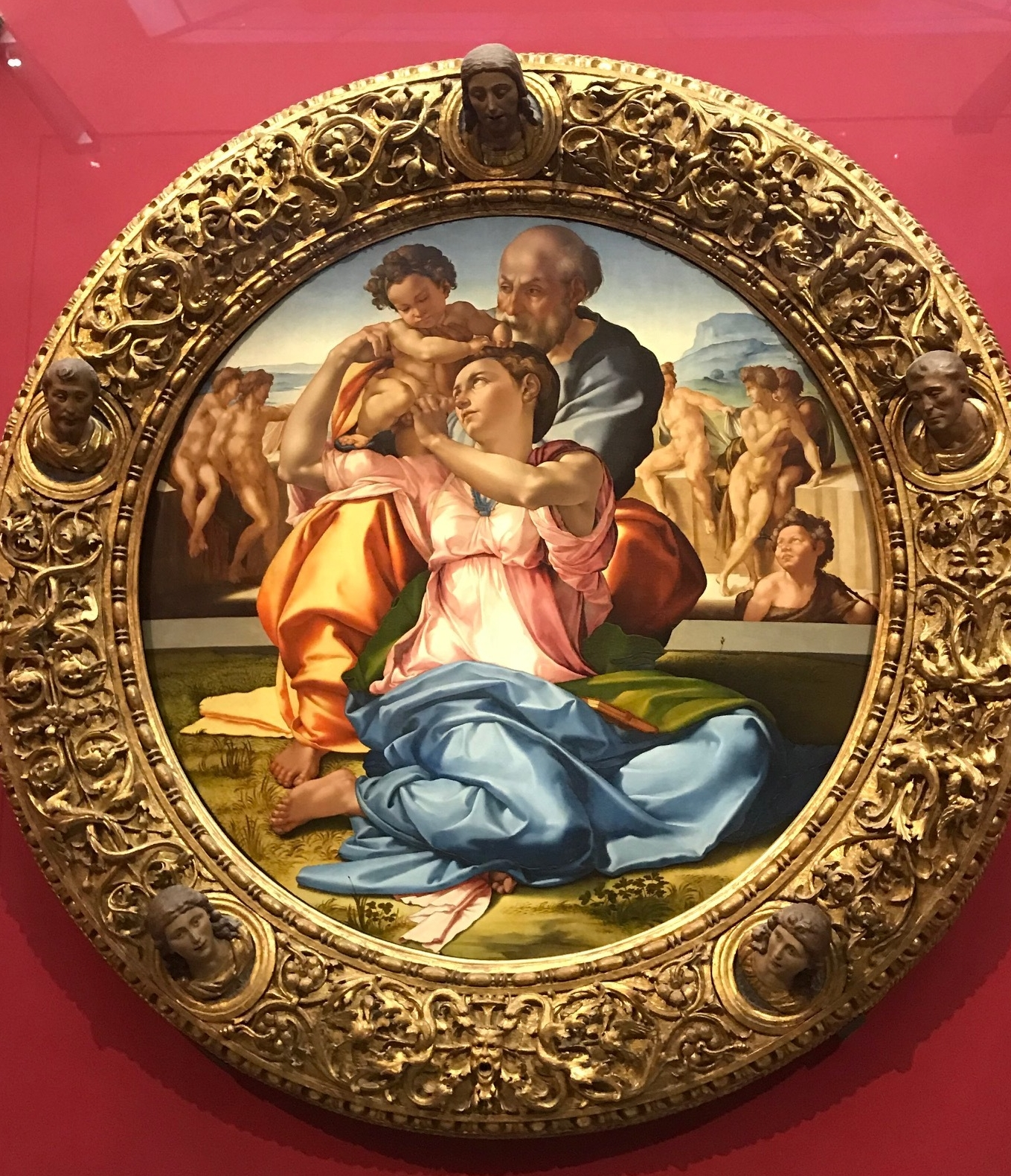 Doni Tondo by Michelangelo