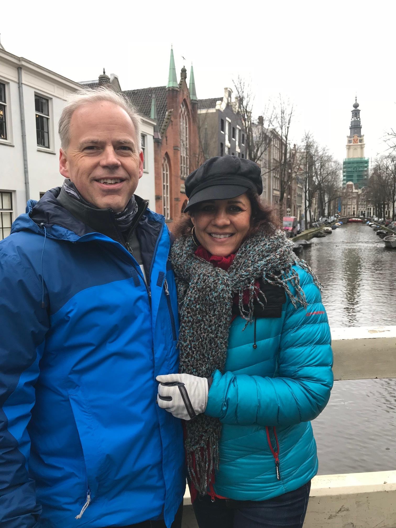 Derek and Cindy In Amsterdam