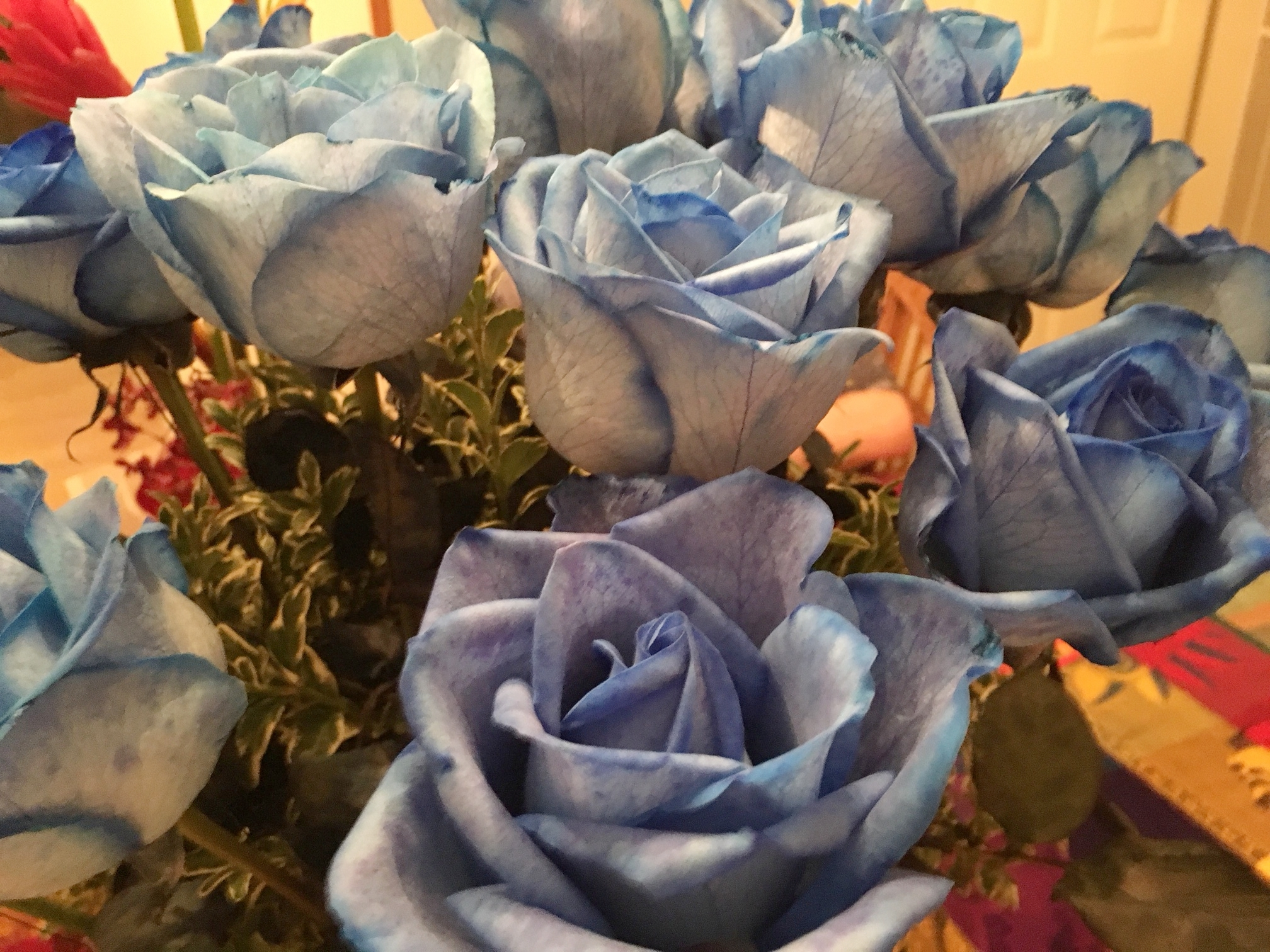 Blue Roses from Flowers by Jr. Lou and T