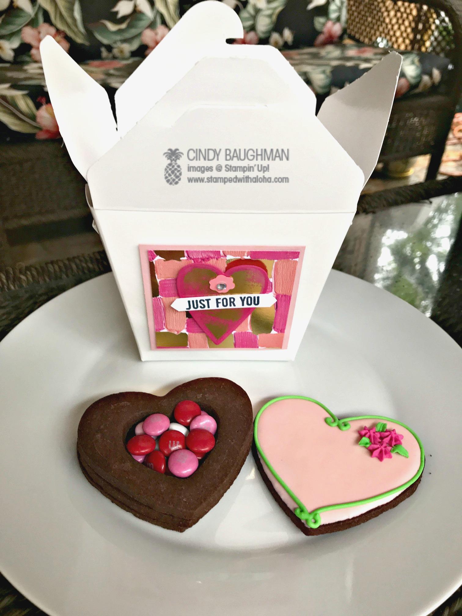 Cookie Box - inside