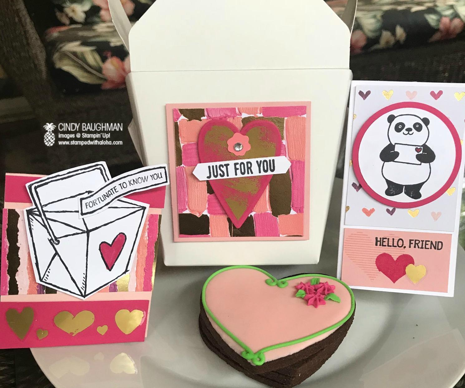 Valentine's Day Projects - www.stampedwithaloha.com