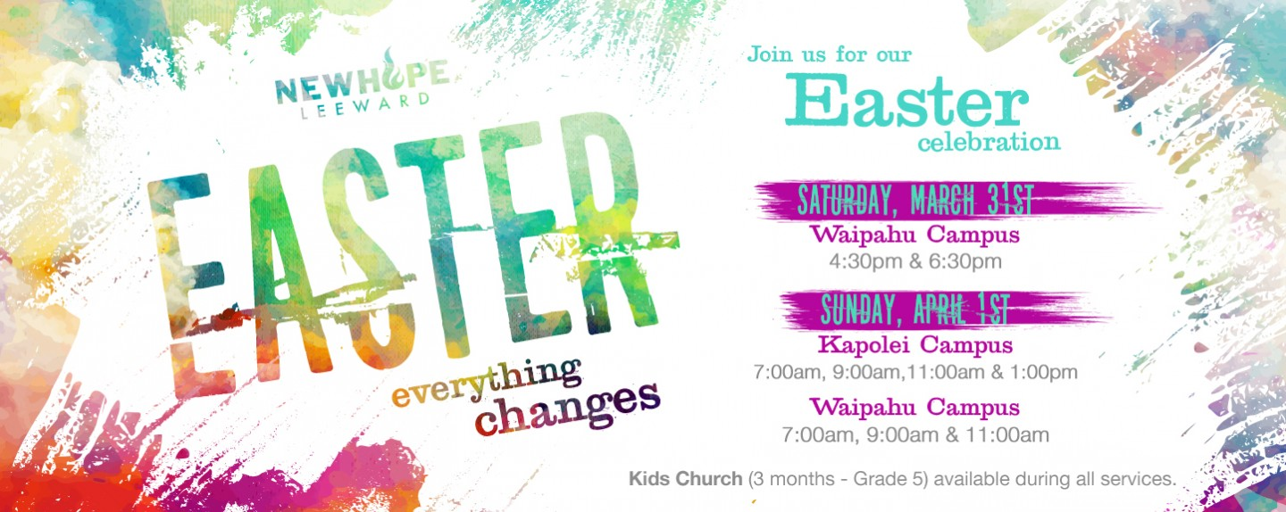 New Hope Leeward Easter Services
