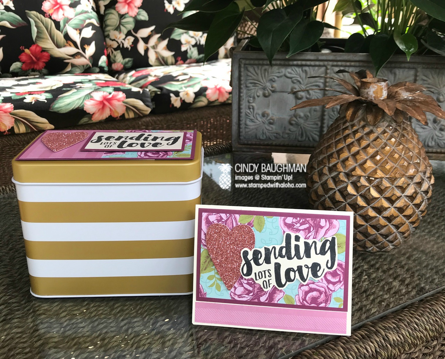 Sending Love Card and Box