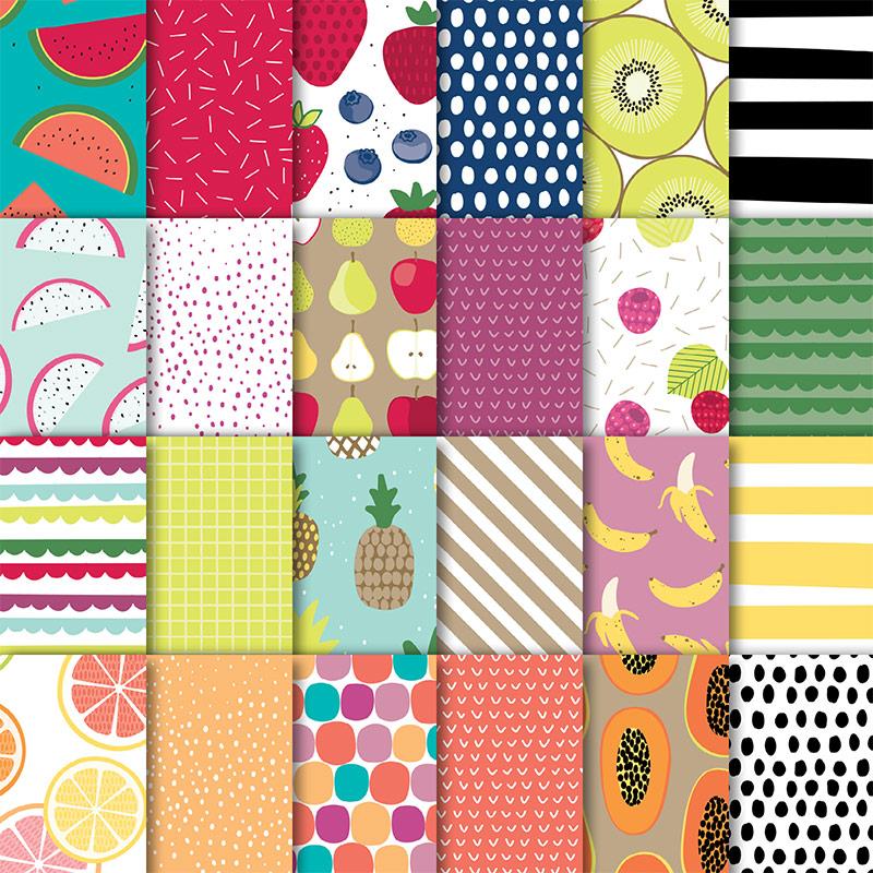 Tutti Frutti Designer Series Paper Pack