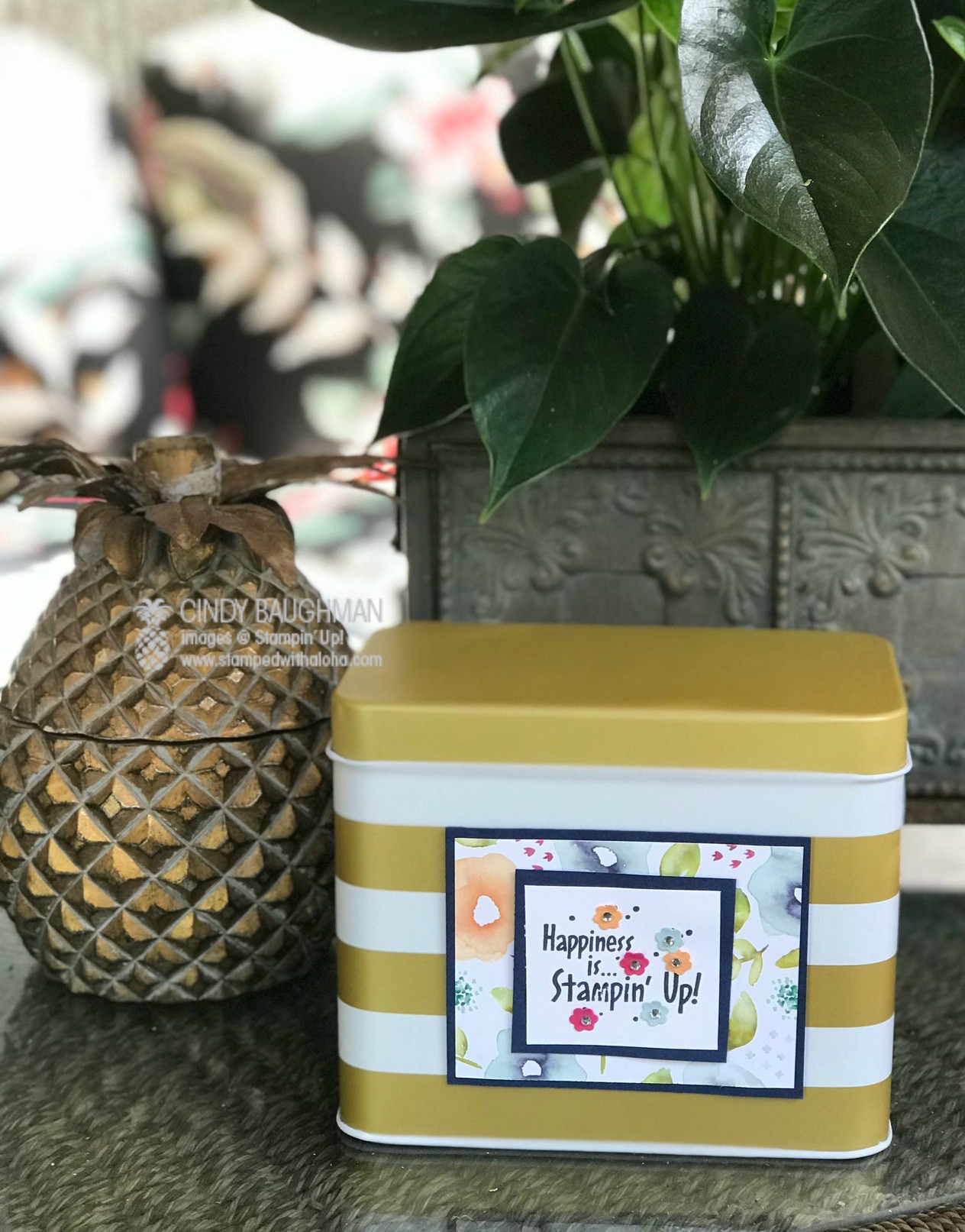 Happiness Is Stampin' Up! - www.stampedwithaloha.com