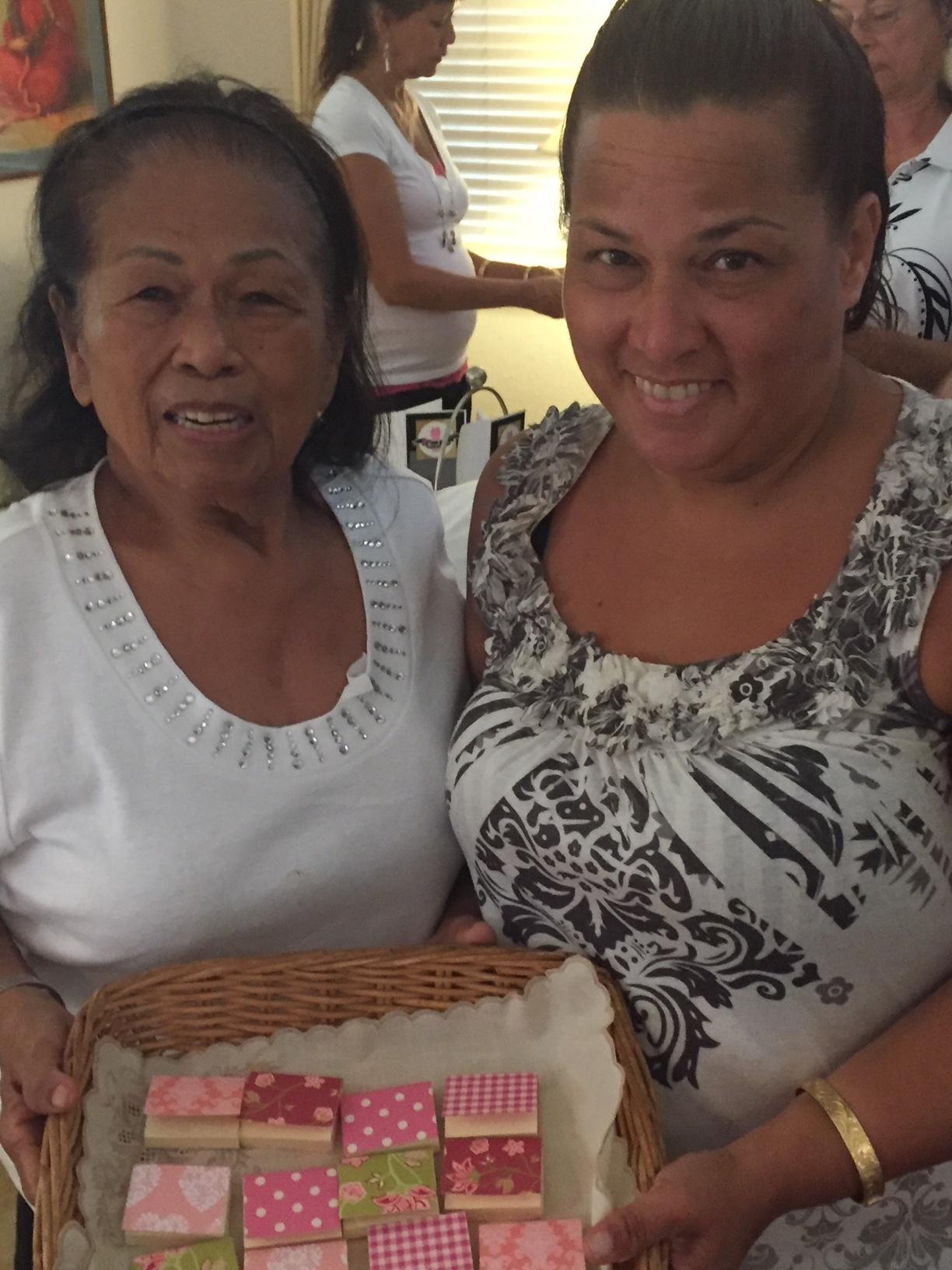 Rosita and Sarina