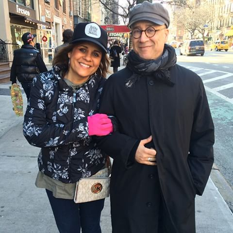 Cindy and Glen in NYC - www.stampedwithaloha.com