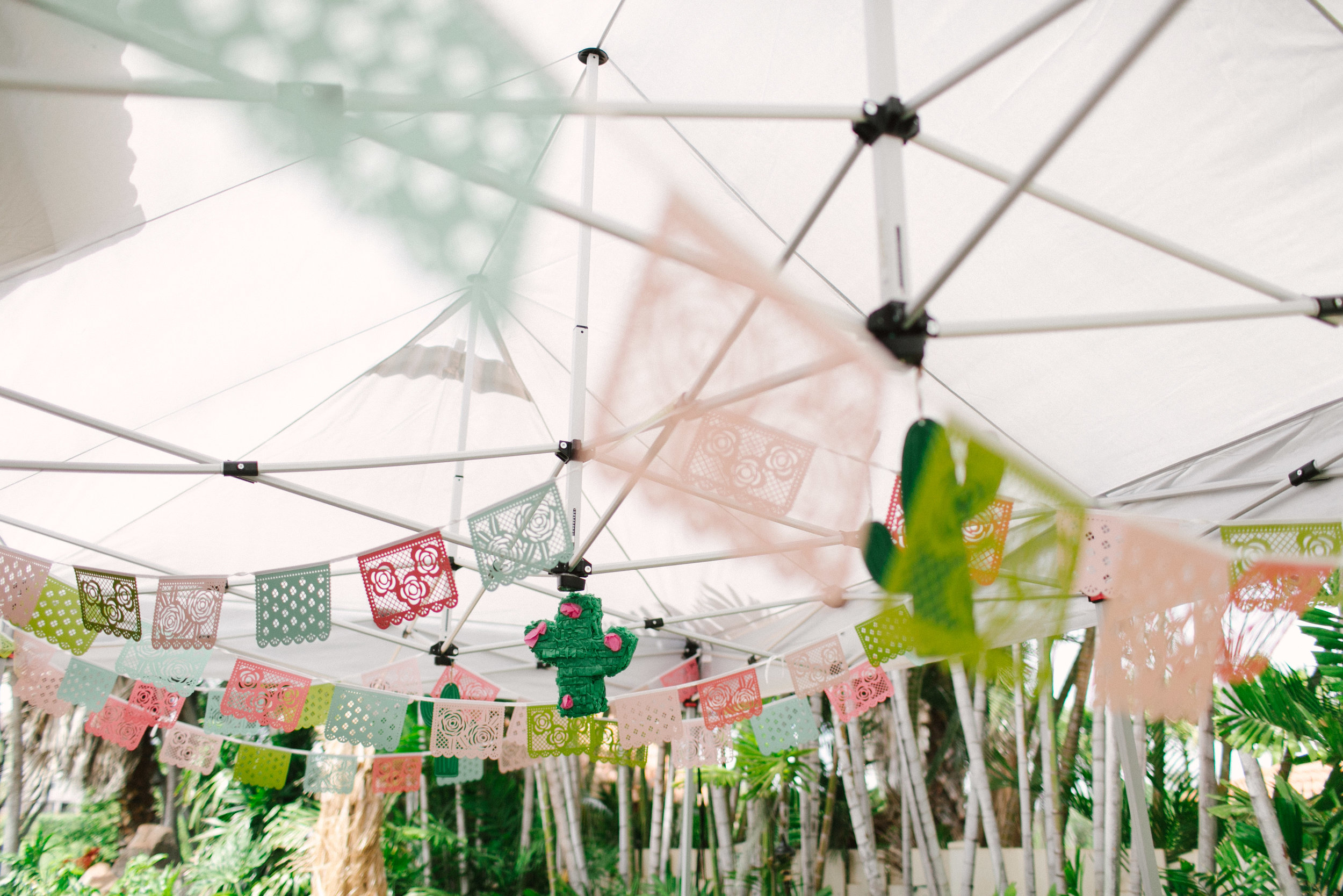 Bridal Fiesta Flags - www.stampdwithaloha.com