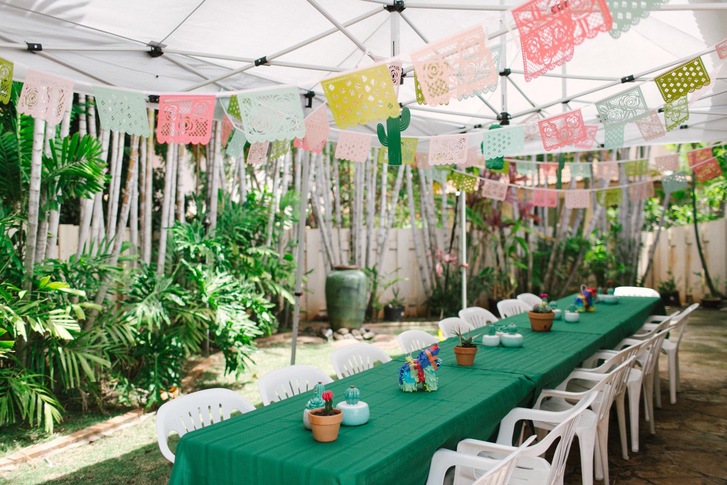 Fiesta Bridal Shower - www.stampedwithaloha.com