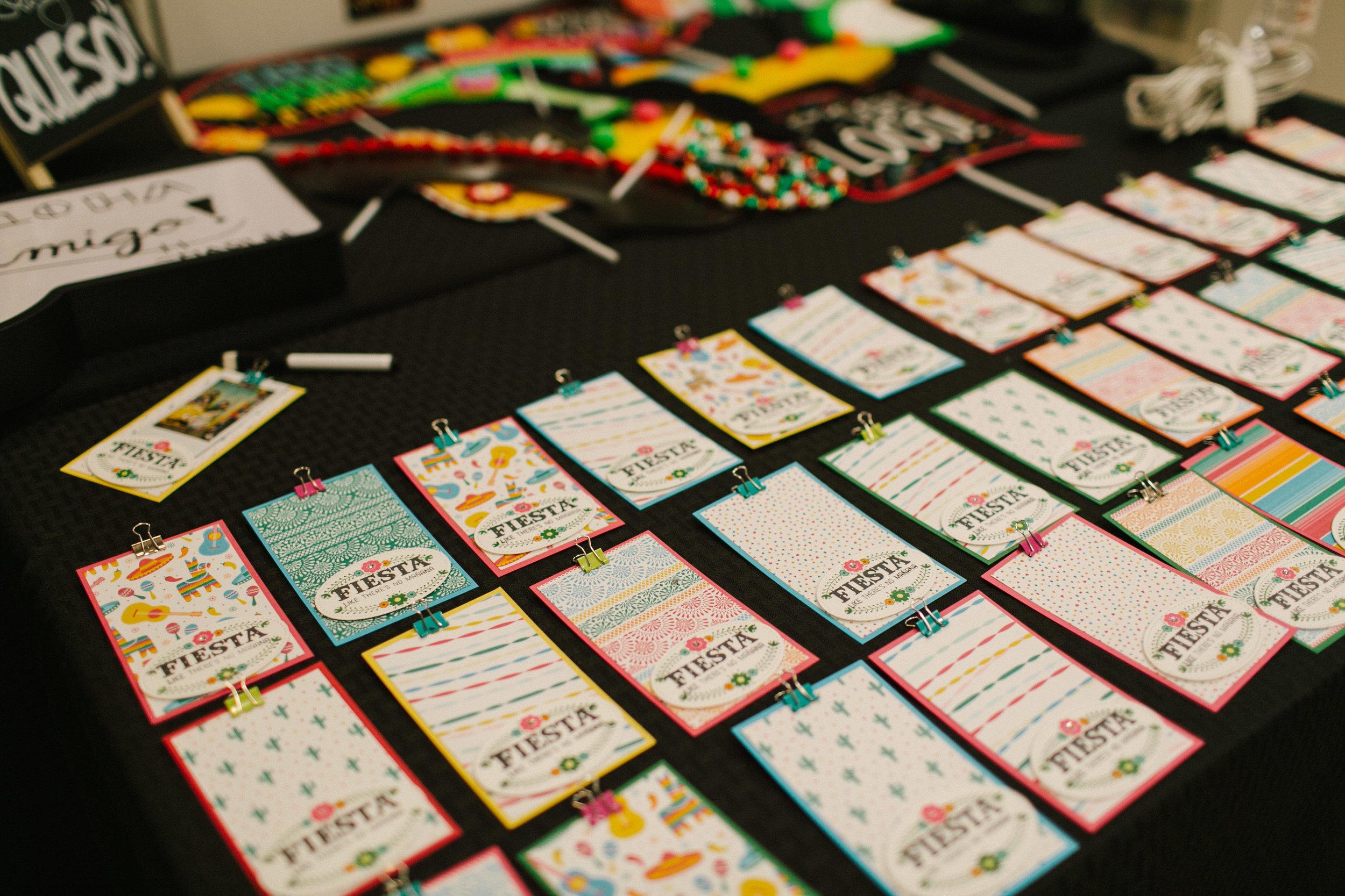 Bridal Fiesta Photo Favors - www.stampediwthaloha.com
