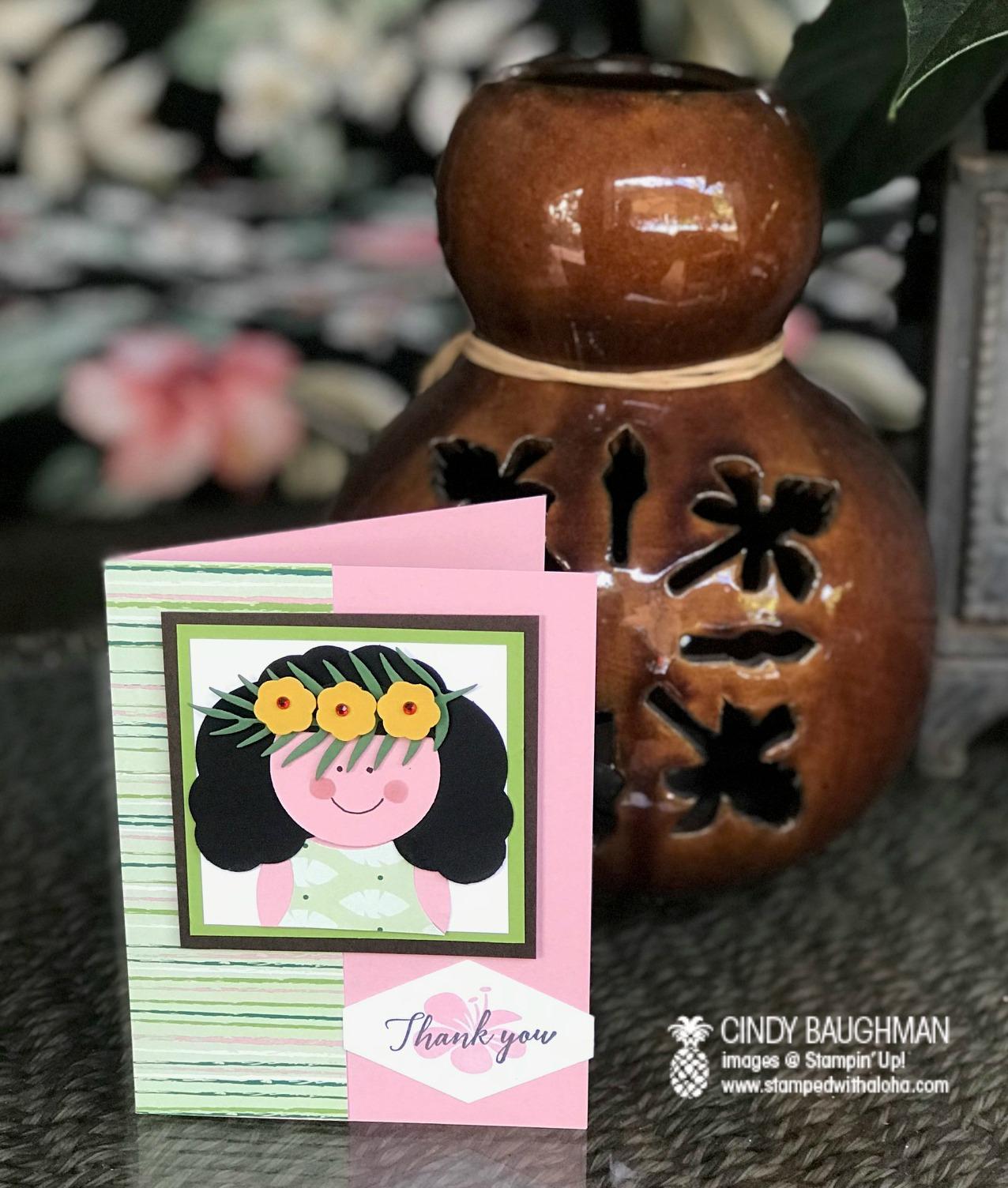 Tropical Escape Card - www.stampredwithaloha.com