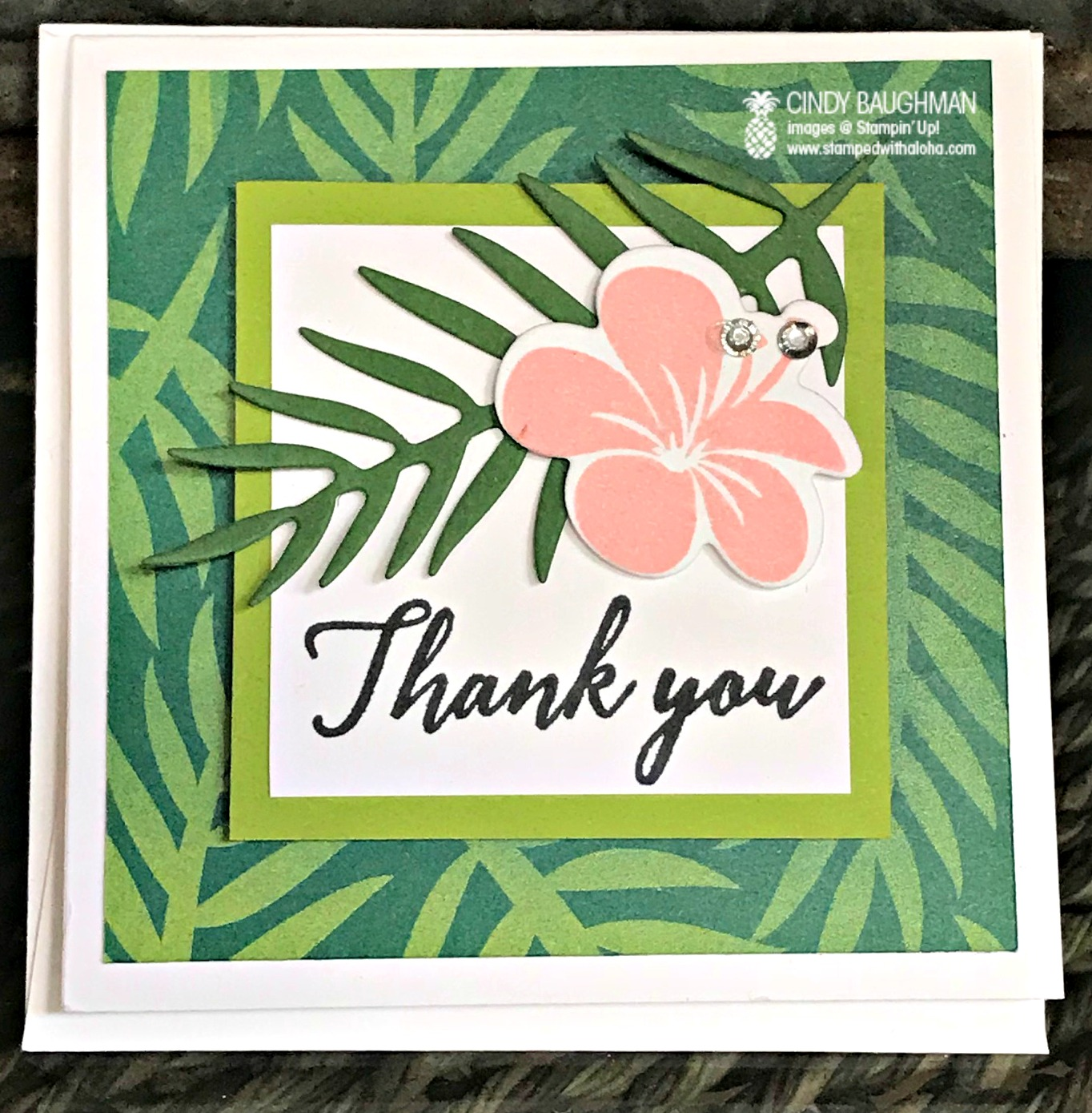 Tropical Escape Card