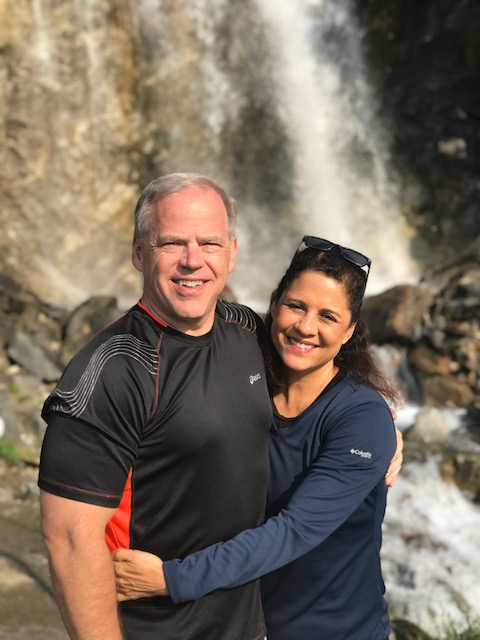 Derek and Cindy in Alaska