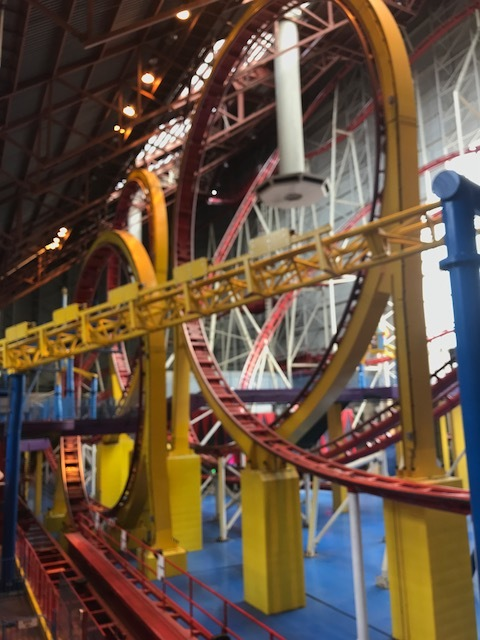 Roller Coaster at the West Edmonton Mall