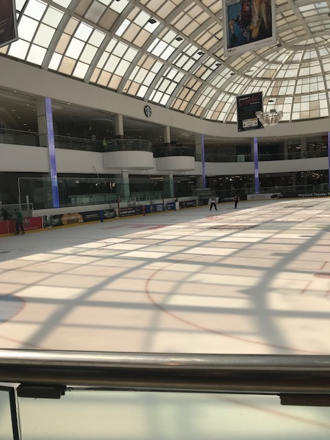 Skating Rink at the West Edmonton Mall